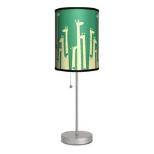 """Artist Budi Satria Kwan """"Such a Great Height"""" 20"""" H Table Lamp with Drum Shade"""