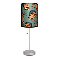 "Sport Artists Lou Brooks ""X-ray Specs"" Table Lamp"