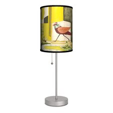 "Artist Sarajo Frieden ""Alarmed Birds"" Table Lamp"