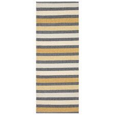 Baia Yellow Handcrafted Rug