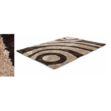 Two Tone Beige/Brown Rug