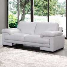 Marlene Leather Loveseat