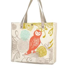 Owl Shopping Tote