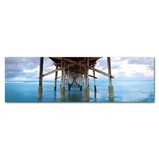 Newport Beach Pier Photographic Print on Canvas