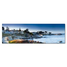 Lovers Point Monterey California Photographic Print on Canvas