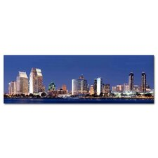 San Diego City Photographic Print on Canvas