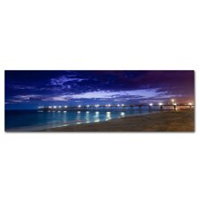 Heromsa Beach Pier Photographic Print on Canvas