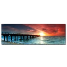 Mornington Pier Victoria Photographic Print on Canvas