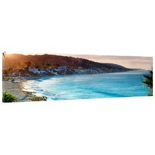 Laguna Beach Photographic Print on Canvas