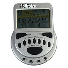 Mega Screen Electronic Solitaire Game