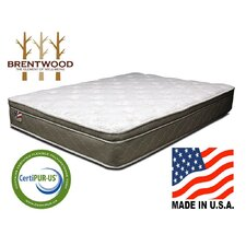 "<strong>Brentwood Well-Being</strong> Refresh 11"" Quilted Eurotop Inner Spring Mattress"