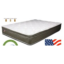 "Refresh 11"" Quilted Eurotop Inner Spring Mattress"