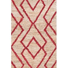 Marco Red Cut-pile Rug