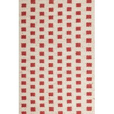 Blanco Red Rug