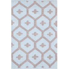 Elizabeth Blue/Brown Vintage Indoor/Outdoor Area Rug