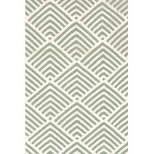 Cleo Moss / Ivory Graphic Indoor / Outdoor Area Rug