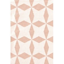 Lucy Pink/White Graphic Indoor/Outdoor Area Rug