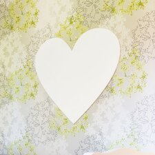 Wood Wall Heart Canvas Art