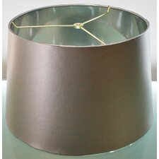 """14"""" Brazil Leather Drum Lamp Shade (Set of 2)"""