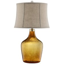 """Indus 28"""" H Table Lamp with Bell Shade"""