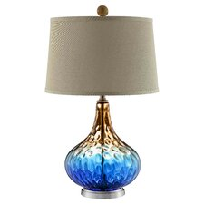 "Shelley 26.5"" H Table Lamp with Empire Shade"
