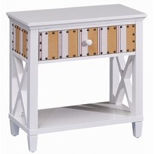 Cabana Stripe End Table