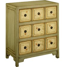 <strong>Stein World</strong> Lauren Hand Painted 3 Drawer Chest