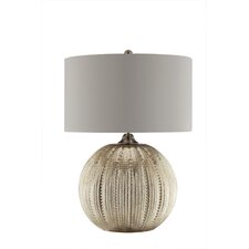 "Simeon 27"" H Table Lamp with Drum Shade"