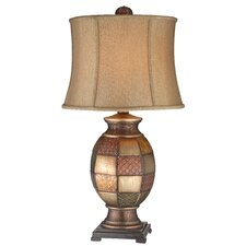 "31.5"" H Mosaic Textured Table Lamp"