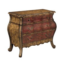3 Drawer Bombe Chest