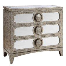 Carlton Mirrored 3 Drawer Cabinet