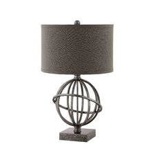 """Lichfield 25"""" H Table Lamp with Drum Shade"""