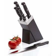 5 Piece Knife Set and Black Block