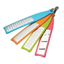 Colourworks Four Pieces Grater Set