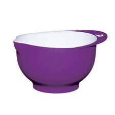 Colourworks Purple Melamine Two Tone Mixing Bowl