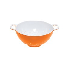 Colourworks Colander in Orange / White