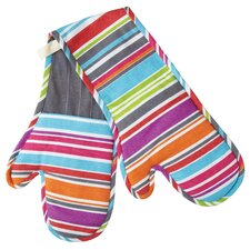 Colourworks Striped Double Oven Glove