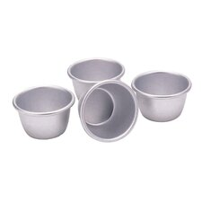 Set of Four 7.5cm Mini Pudding Moulds