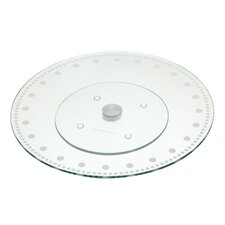 Sweetly Does It Revolving Glass Cake Stand