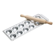 Ravioli Tray Twelve Hole and Rolling Pin
