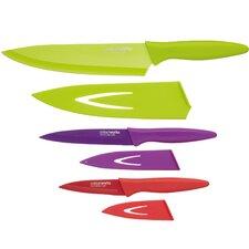 Colourworks Soft Grip 3 Piece Knife Set