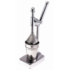 Deluxe Large Lever Action Juicer in Chrome Plated