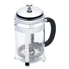 Le'Xpress Six Cup Chrome Plated Cafetiere