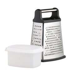 Master Class Four Sided Box Grater With base collecting box