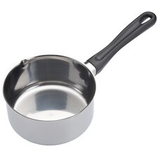 Milk pan with phenolic handle