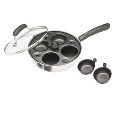 Clearview Four Hole Egg Poacher