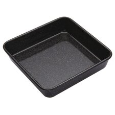 <strong>KitchenCraft</strong> Master Class Bakeware Vitreous Enamel Square Bake Pan