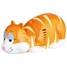 Kitsch'n'Fun Crumb Pet Novelty Table Top Ginger Cat Vacuum Cleaner