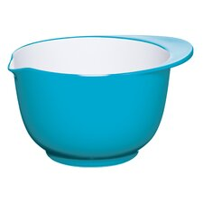 Colourworks Melamine Mixing Bowl in Blue/White
