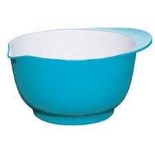 Colourworks Melamine Mixing Bowl in Blue/White